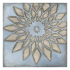 Silver Filigree I Giclee Print by Megan Meagher at Art.com