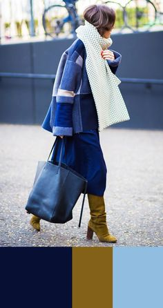 5 Winter Color Combinations Guaranteed to Look Stylish via @WhoWhatWear