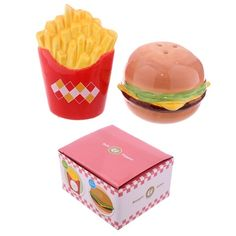 Fast Food Burger and Fries Salt and Pepper Set Price: 6.50 GBP