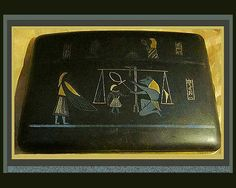 discovering tut's tomb | TUT's Tomb- 24k Shakudo Cigarette Case/Card Case,Japan,Signed,1920s ...