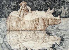 El Hurgador [Arte en la Red]: Rinocerontes (LII)