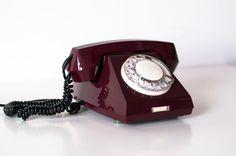 Vintage Phone Soviet Phone Rotary dial Phone NOS by SovietMilitary, $69.00