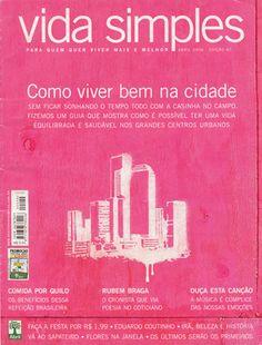 Revista Vida Simples - Ilustração de capa by Nelson Provazi