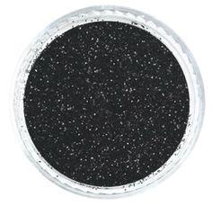 "Black Ice .008"" Fine Glitter Powder – Solvent Resistant Glitter from Glitties Nail Art Online Store #solvent #resistant #glitter"