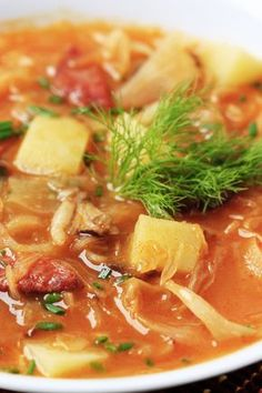 French Cabbage Soup Recipe from Door County, WI