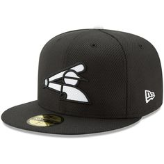 quality design 9d5b7 b9578 Youth Chicago White Sox New Era Black Diamond Era 59FIFTY Fitted Hat, Your  Price