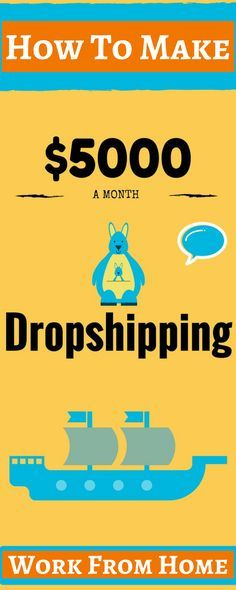 How to make money working from home? Looking for work from home jobs? Online jobs are a great way to earn money online without leaving your home. With dropshipping business as a home-based side hustles you can start now. Click the pin to see how >>>