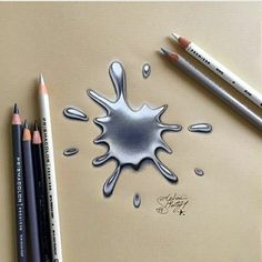 Pencil Art - Drawings is an amazing form of art, where the pencil drawings seem to literally jump off the page. Most artists use graphite pencils for creating the look. Easy drawings are usually small 3d Pencil Drawings, Realistic Drawings, Art Drawings Sketches, Cool Drawings, Beautiful Drawings, Horse Drawings, Sketch Art, Animal Drawings, Beautiful Pictures