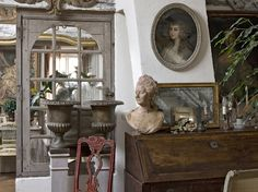 French inspired decor - fantastic feeling throughout the home