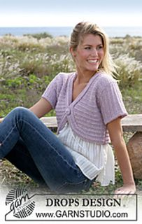 DROPS Extra - Free knitting patterns and crochet patterns by DROPS Design Shrug Knitting Pattern, Knit Cardigan Pattern, Knit Shrug, Vest Pattern, Knitting Patterns Free, Knit Patterns, Free Knitting, Free Pattern, Crochet Cocoon