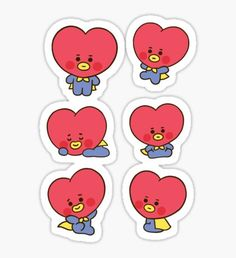 Buy Baby MANG Set' by as a Sticker, Transparent Sticker, or Glossy Sticker Pop Stickers, Tumblr Stickers, Printable Stickers, Pop Art Wallpaper, Bts Wallpaper, Kpop Diy, Kawaii Doodles, Kpop Drawings, Journal Stickers