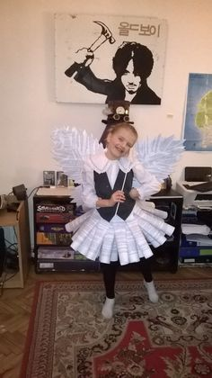 DIY Book Fairy costume                                                       …