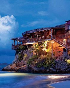 Eden Rock - St Barths.  Get Inspired, visit: www.travliving.com  #awesome #beautiful #travel #amazing #luxury #love #travliving #hotel #resort #holiday