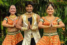 Bollywood dancers prepare for Parramasala in Sydney.