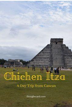 Explore the ancient city of Chichen Itza in Mexico.: