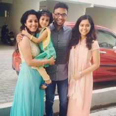 We are happy for shanu chechi's new house! #Family #Cousin #Niece #Sisters #Love