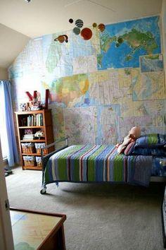 Toddler Boys Bedroom Ideas cool paint idea for boys teen room superhero yoda and star wars