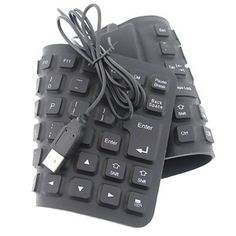 Dealtz.com offers one day deal to buy USB Flexible Folding Waterproof Keyboard to carry on typing with Laptop and Desktop. Dealtz.com is one of the most popular online shopping store in India. This Easy to clean, waterproof,dust-proof and coffee-proof Flexible Keyboard can easily rolled like a Roti and carried anywhere inside your bag.