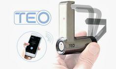Teo, el primer candado que funciona por Bluetooth