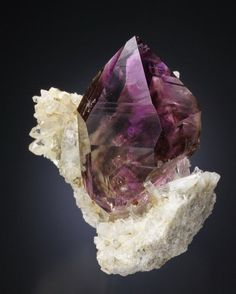 Quartz (Var: Amethyst) --- Jackson Crossroads Amethyst Mine, Wilkes Co., Georgia, USA