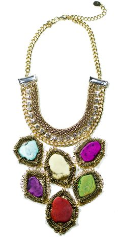 statement necklace...hello, I love you