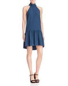 MILLY Italian Cady Drop Waist Katelyn Dress   Bloomingdale's