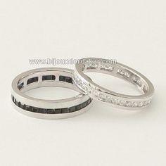 925 argent 2.6 ct Blanc Topaz Femmes Bijoux de Mariage Fiançailles Anneau Sz6-10