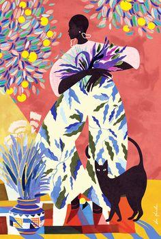art styles Beautifully style challenge as you like art sketchbook simple Art Inspo, Kunst Inspo, Art And Illustration, Pinturas Art Deco, Flowers Wallpaper, Art Watercolor, Ouvrages D'art, Black Girl Art, Art Moderne