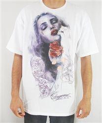 NEW! Original Black Rose Petals T Shirt White  Our Price: $28.00  Sale Price: $19.99   #Introducing #OriginalBlack #new #paint #original #artist #Tattoo #design #Artwork creation now #available at #cluburban.com #freeshipping #onSALe #SALE