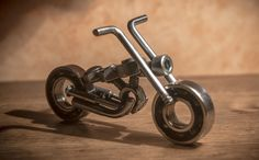 Nuts and Bolts Motorcycle