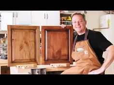 (1) A Swanky Rustic Wood Finish on Distressed Alder - YouTube