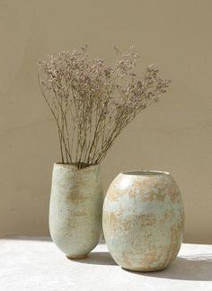 Dorothée Picard Keramik Vase, Pottery Designs, Decoration, Creations, Clay, Ceramics Ideas, Vases, Pots, Sunshine