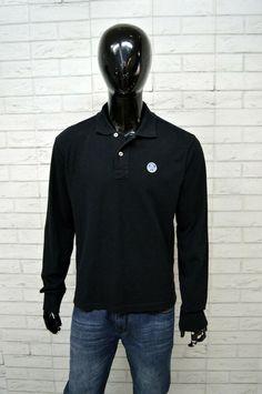 Dettagli su Polo NORTH SAILS Uomo Taglia Size L Maglia Camicia Shirt  Maglione Nero Cotone 29a7e4fdc41