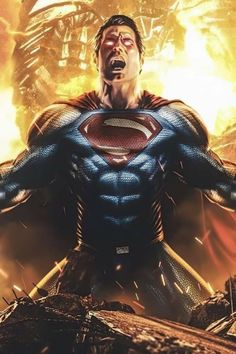 Superman Room, Superman Artwork, Superman Wallpaper, Batman Vs Superman, Spiderman, Mortal Kombat Art, Man Of Steel, Dc Heroes, Dc Universe