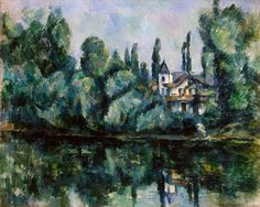 Paul Cézanne - Les Bords de la Marne