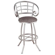 "Callee Walton 30"" Swivel Bar Stool Upholstery: Ford Red, Frame Finish: Sun Bronze"