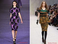 Moda floreale trend Inverno 2012-2013