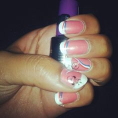 Queensday nails