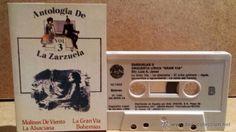 ANTOLOGÍA DE LA ZARZUELA. VOL. 3 - MC / DOBLON - 1985 / CALIDAD LUJO.