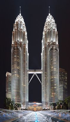 Petronas' towers