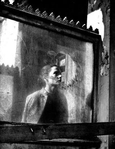 Frances Mortimer - Reflection (Paris, When a woman stops before the window of a shop to gaze at her reflection, we see her, but not what she sees of herself looking back. Francesca Woodman, Vintage Photography, Street Photography, Art Photography, Travel Photography, Old Photos, Vintage Photos, Photo D Art, Through The Looking Glass