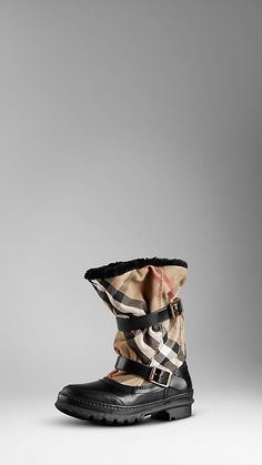 House Check Snow Boots | Burberry