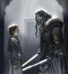 Thorin and Bilbo                                                                                                                                                      More