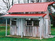 Garden Sheds With Porch bob-bowling-rustic-shed 2 | for the garden - structure | pinterest