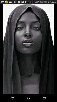 Black is beyond beautiful...
