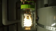 Make your own lantern jar. It'd be fun to do some electronics hacking someday.