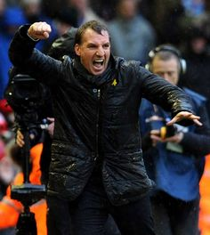 That's what winning means to Brendan Rogers Fc Liverpool, Liverpool Football Club, Brendan Rodgers, 2nd City, Soccer, January, Football, European Football, Soccer Ball