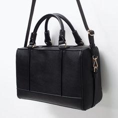 ZARA - SHOES & BAGS - BOWLING BAG WITH EDGING