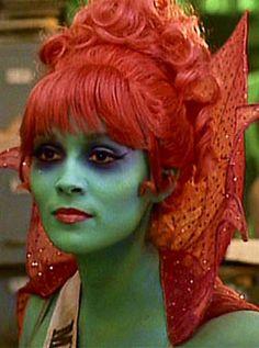Patrice Martinez/Miss Argentina. Beetlejuice, 1988 American comedy horror fantasy film.