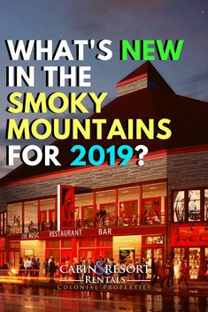 What's new in Gatlinburg and Pigeon Forge? There's over 14 new and exciting additions to Gatlinburg and Pigeon Forge including attractions, restaurants and breweries. Be sure to visit these new hot spots on your next vacation getaway!